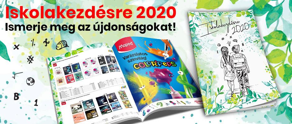 ISKOLAKEZDÉSRE 2020 Ismerje meg az újdonságokat!