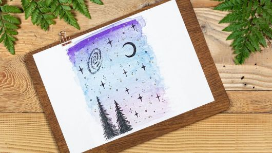 staedtler ceruzával rajzolt kép